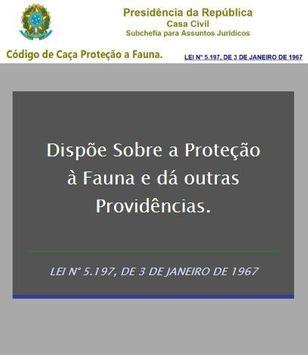 Código de Caça  e Proteção F. poster