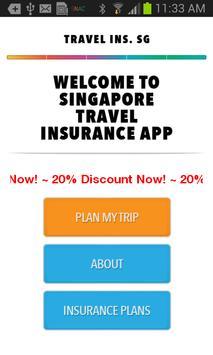SG Travel Insurance poster
