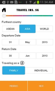 SG Travel Insurance screenshot 1