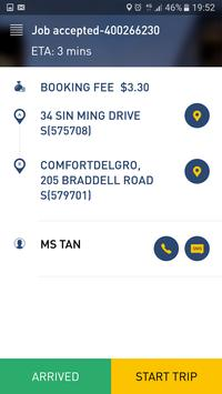 ComfortDelGro Bidding App apk screenshot