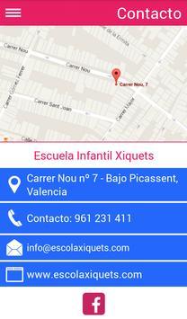 Guardería Xiquets apk screenshot