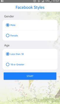 Styles For FB apk screenshot