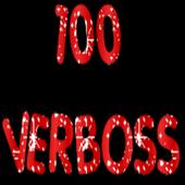 100 Spanish verbs translation icon