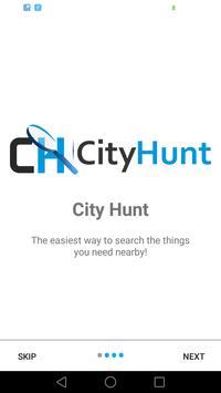 CityHunt poster