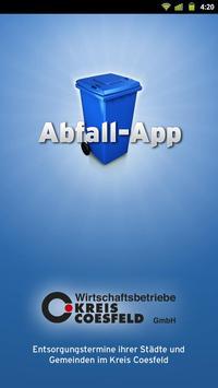 Abfall-App Coesfeld poster