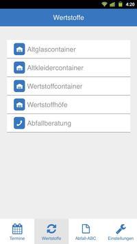 Abfall-App Coesfeld screenshot 2