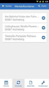Abfall-App Coesfeld screenshot 3