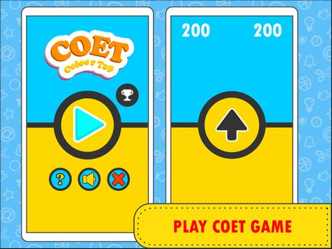 Tap Tap Color Coet Game poster