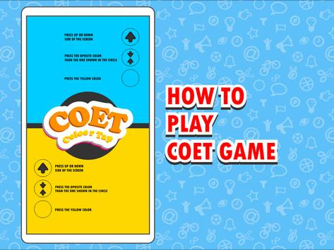 Tap Tap Color Coet Game screenshot 3