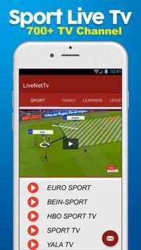 HD Live NetTv - FootBall poster