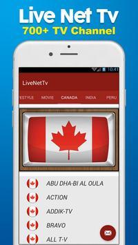 HD Live NetTv - FootBall screenshot 1