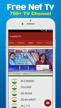 HD Live NetTv - FootBall screenshot 2