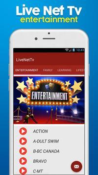 HD Live NetTv - FootBall screenshot 3