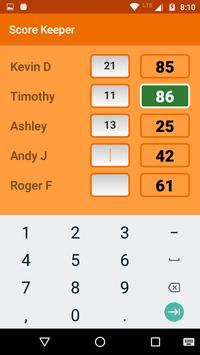 Score Keeper screenshot 1