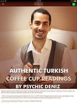 Coffee Reading Psychic Deniz apk screenshot