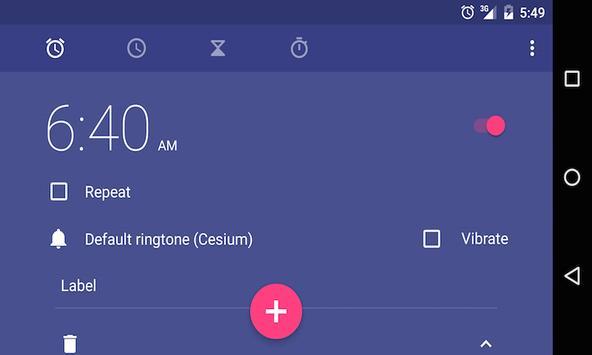 Ankh - Free Sunrise Alarm apk screenshot