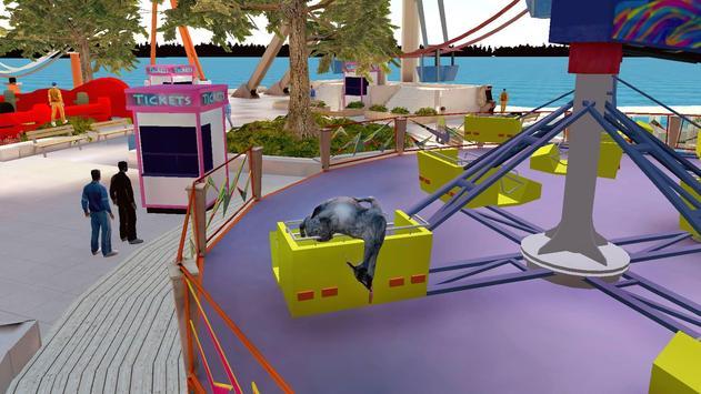 Goat Simulator Free captura de pantalla 1