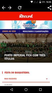 Festa do Basquetebol poster