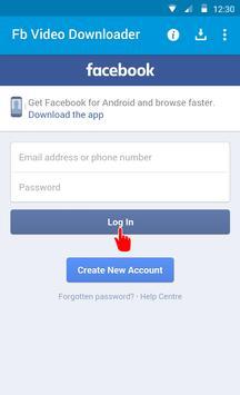 دانلود فیلم های فیس بوک apk screenshot