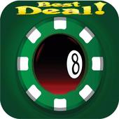 Coins 8 bal pool Hack-Prank icon