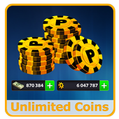 Coins for 8 Ball Pool Prank icon