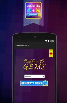 Coins Cheat Pixel Gun 3D Prank apk screenshot