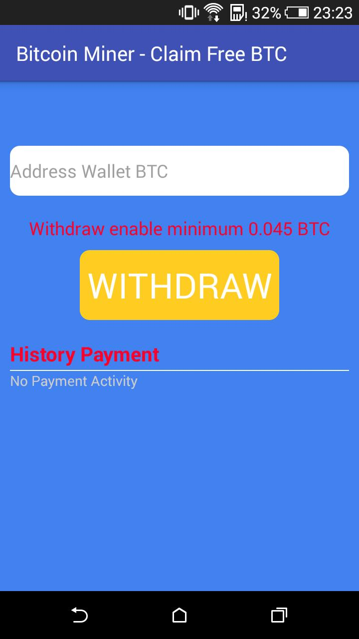 Bitcoin Miner - Claim Free BTC for Android - APK Download