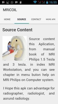 PLACEMENT COIL MRI apk screenshot