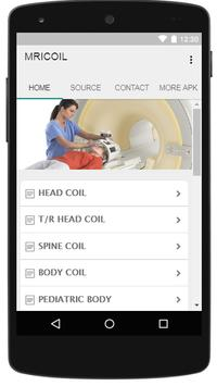 PLACEMENT COIL MRI poster
