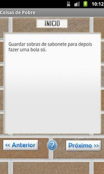 Coisas de Pobre - As Melhores! apk screenshot