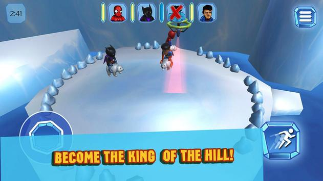 Superhero Crash and Bash: Polar Bear Ride screenshot 11
