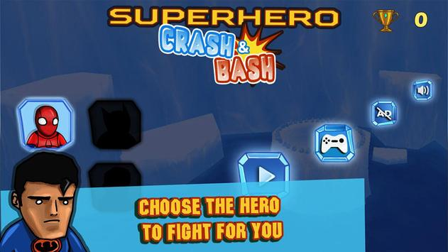 Superhero Crash and Bash: Polar Bear Ride screenshot 1