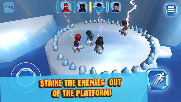 Superhero Crash and Bash: Polar Bear Ride screenshot 8