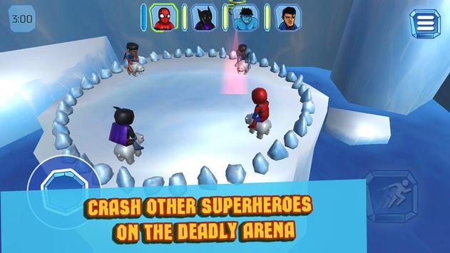 Superhero Crash and Bash: Polar Bear Ride screenshot 9