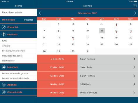 Concours PSB apk screenshot