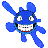 Blue Ball WOow : jungle adventure run icon