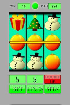 Slot Machine Christmas apk screenshot
