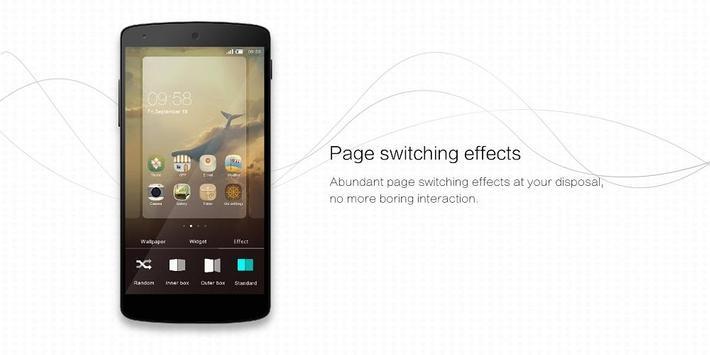 Lomo Launcher apk screenshot