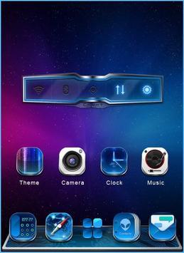 GALAXY COMET 3D LAUNCHER THEME apk screenshot