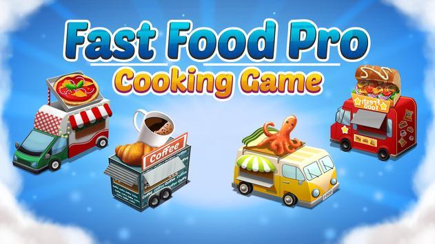 烹调食物 - Fever - 厨师厨房餐厅 海报