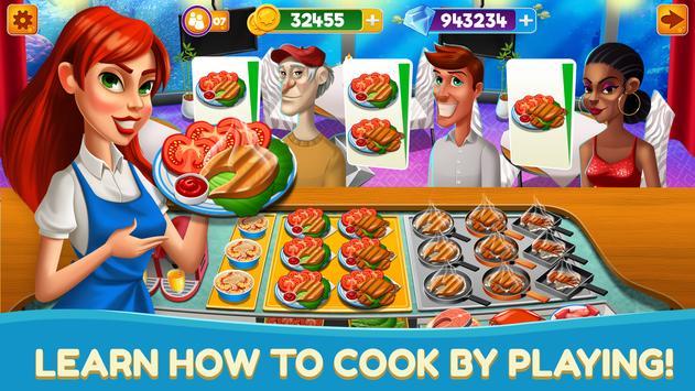 厨师发烧厨房烹饪游戏餐厅 Fever 截图 5