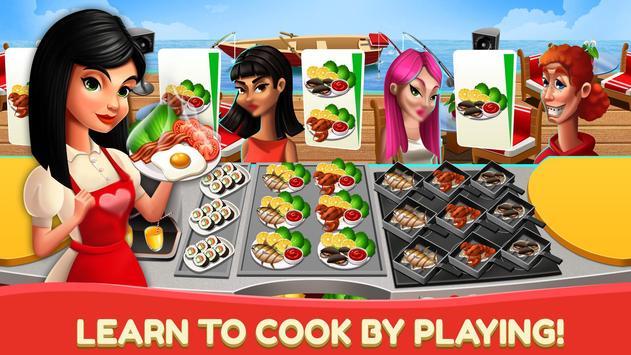 Dapur Fever - Game Memasak & Restoran Makanan poster