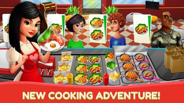 Dapur Fever - Game Memasak & Restoran Makanan screenshot 1