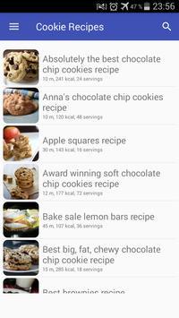 Cookie recipes with photo offline पोस्टर