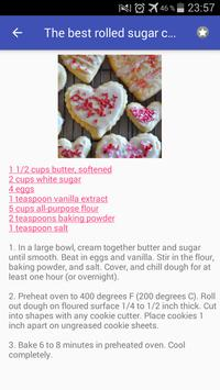 Cookie recipes with photo offline स्क्रीनशॉट 7
