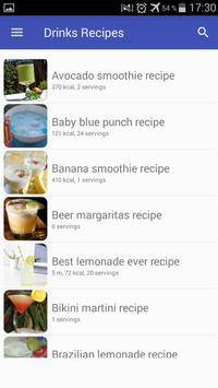 Drinks and cocktails recipes with photo offline screenshot 3