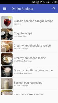 Drinks and cocktails recipes with photo offline screenshot 5