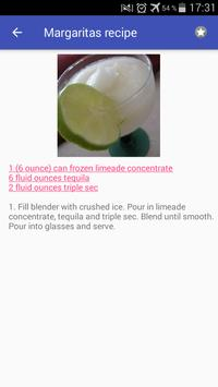 Drinks and cocktails recipes with photo offline screenshot 6