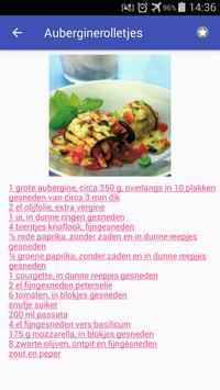Vegetarische recepten nederlands app gratis screenshot 1