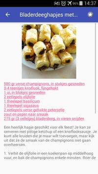 Vegetarische recepten nederlands app gratis screenshot 4